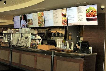 Digital Signage Menu Boards Solution